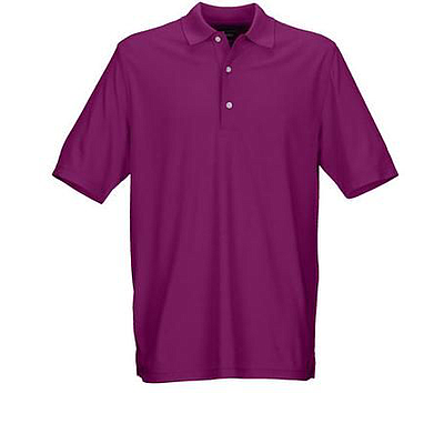 GREG NORMAN PERFORMANCE MICRO PIQUE POLO DRK PLUM