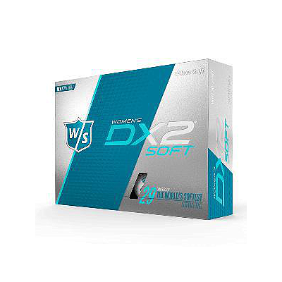 WILSON STAFF DX2 SOFT LADIES GOLF BALLS