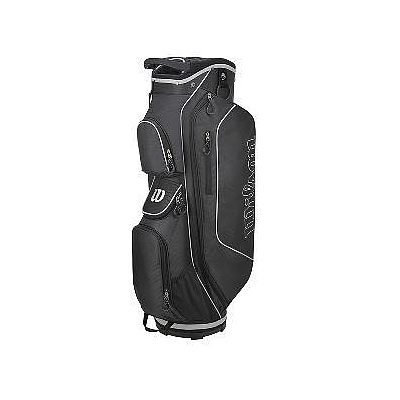 WILSON STAFF PROSTAFF CART BAG BLACK/SILVER
